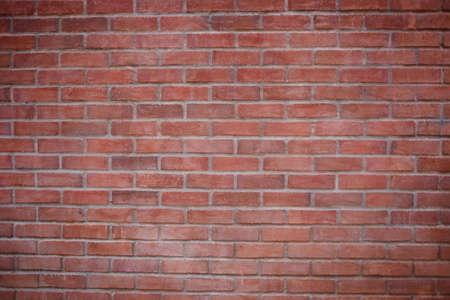 Dichte omhooggaand van een oude rode bakstenen muur. Stockfoto - 9762240