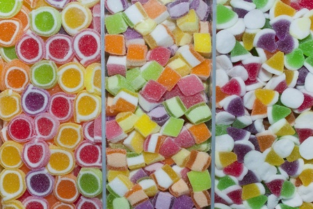 sweet stuff: Colorful Jelly Candy  Stock Photo