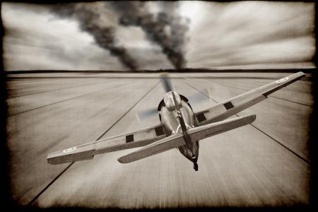 Vintage War Plane  Stock Photo - 14699933