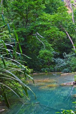 Erawan Waterfall, Thailand   photo