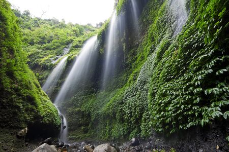 Madakaripura Waterfall  East Java, Indonesia  photo