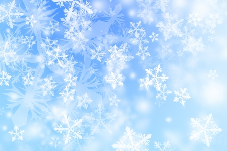 abstract snowflake background photo