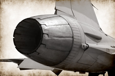 combustion chamber: fighter jet rear