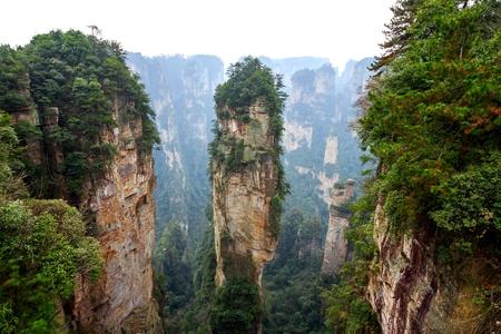 Zhangjiajie National Park , Hunan province, China