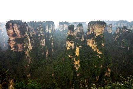 hunan: Zhangjiajie National Park , Hunan province, China