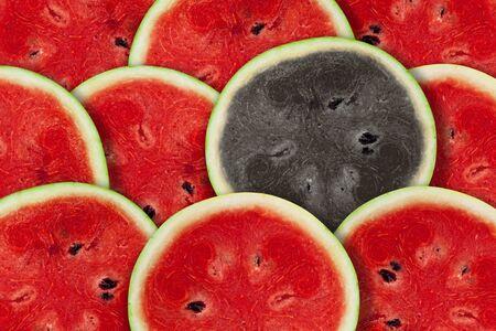 hetero: slices of watermelon background