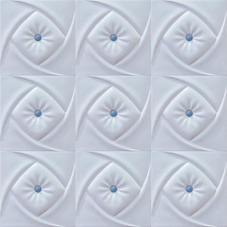 white sofa: white color sofa texture Stock Photo