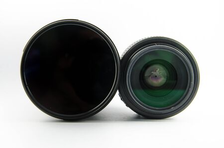 This is the 2lens with isolated type  Stock Photo - 16763065