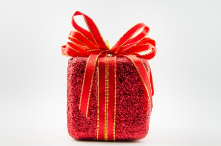 This is giftbox with isolated for chrismas day. Stock Photo - 16818354