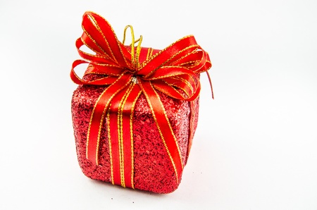 This is giftbox with isolated for chrismas day. Stock Photo - 16818378