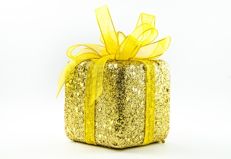 This is giftbox with isolated for chrismas day. Stock Photo - 16818411