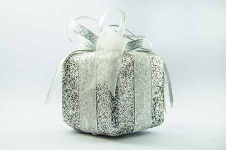 This is giftbox with isolated for chrismas day. Stock Photo - 16818446