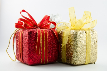 This is giftbox with isolated for chrismas day. Stock Photo - 16818397