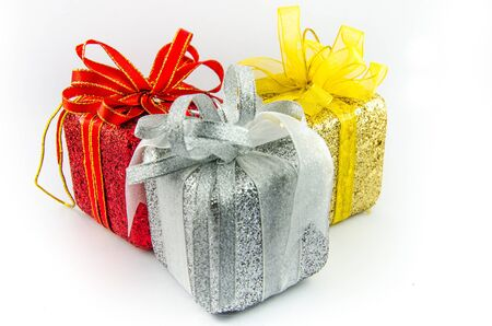 This is giftbox with isolated for chrismas day. Stock Photo - 16818408