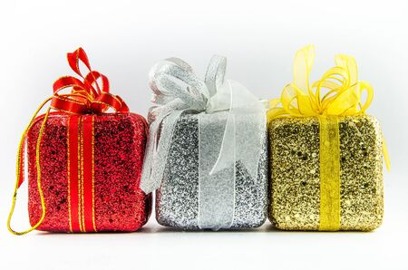 This is giftbox with isolated for chrismas day. Stock Photo - 16818521