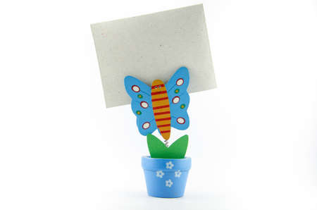 A Butterfly paperclip  photo