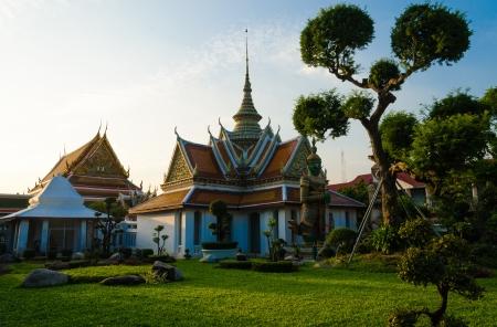 Arun temple at Bangkok  Thailand  Stock Photo - 17009878