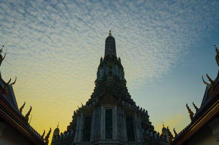 Arun temple at Bangkok  Thailand Stock Photo - 17009861