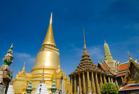 emerald city: Emerald temple is the landmark of bangkok province   Thailand