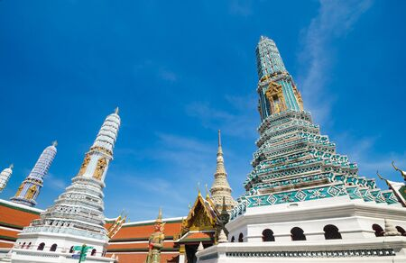 Emerald temple is the landmark of bangkok province. (Thailand) photo