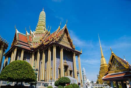 Emerald temple is the landmark of bangkok province   Thailand  photo