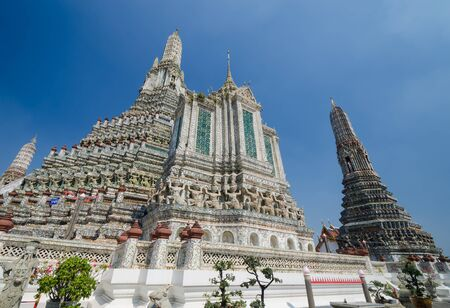 Arun temple is the 1in9 landmark temple of bangkok. photo