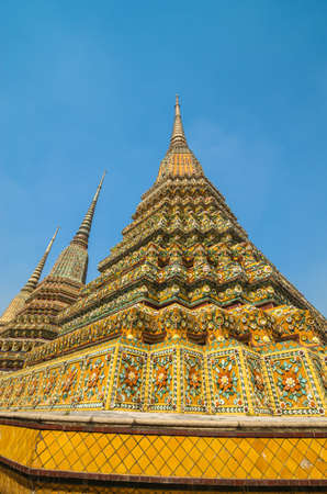 Pho temple is the 1in9 landmark temple of bangkok. photo