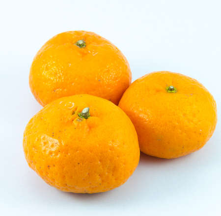 Orange with white backgrounds. Stock Photo - 17292601