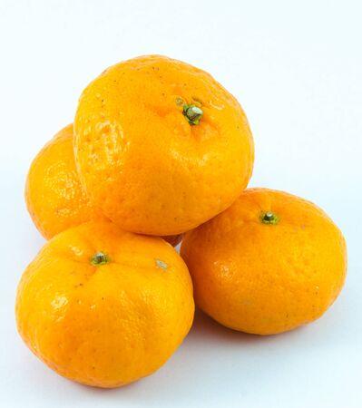 Orange with white backgrounds. Stock Photo - 17292607