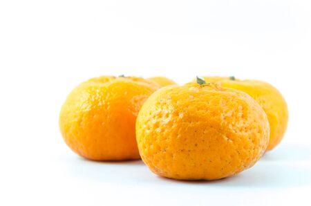 Orange with white backgrounds. Stock Photo - 17292631