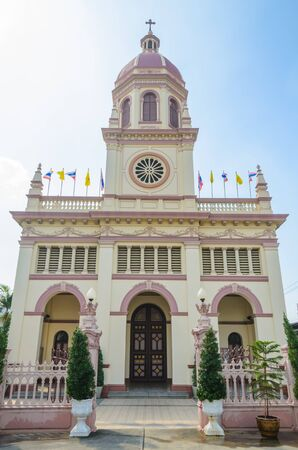 Church in bangkok province (Thailand.) photo