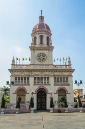 Church in bangkok province (Thailand.) Stock Photo - 17293678