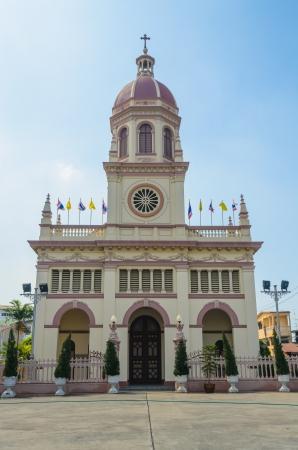 Church in bangkok province (Thailand.) Stock Photo - 17293678