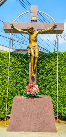 Statue around the church in bangkok. Stock Photo - 17292955