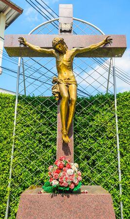 Statue around the church in bangkok. Stock Photo - 17292938