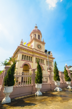 Church in bangkok province (Thailand.) Stock Photo - 17293210