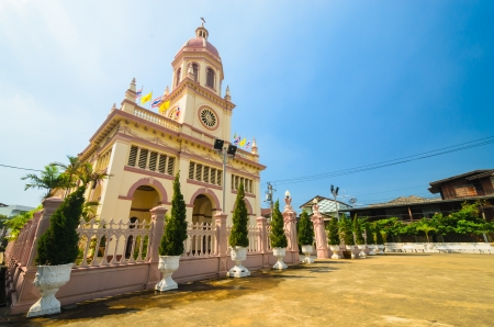 Church in bangkok province (Thailand.) Stock Photo - 17293056