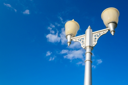 Lamp with bluesky Stock Photo - 17329119