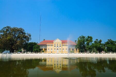 Building in bang-pa-in park at ayutthaya province (thailand) Stock Photo - 17491140