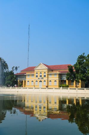Building in bang-pa-in park at ayutthaya province (thailand) Stock Photo - 17491133