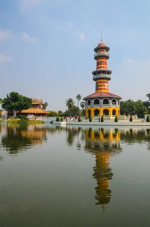 High tower in bang-pa-in park at ayutthaya province. Stock Photo - 17494738