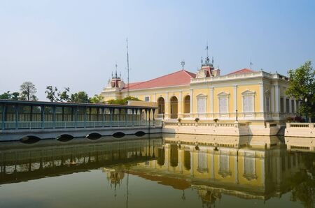 Buildtiful building in bang-pa-in park at ayutthaya province. Stock Photo - 17491119