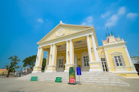 Buildtiful building in bang-pa-in park at ayutthaya province. Stock Photo - 17491131
