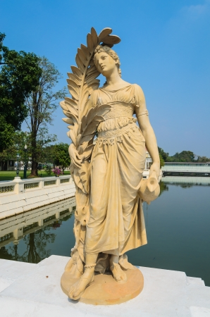 Statue in the park from thailand. Stock Photo - 17495495