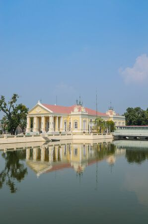 Buildtiful building in bang-pa-in park at ayutthaya province. Stock Photo - 17491118