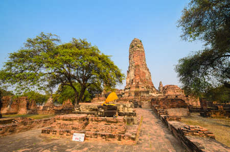 Old Temple at ayutthaya province (Thailand) Stock Photo - 17491213