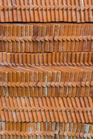 Brown brick texture