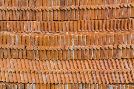 protection of arable land: Brown brick texture