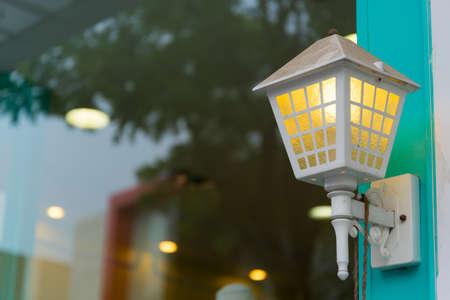 Beautiful lamp on the wall. Stock Photo - 18615420