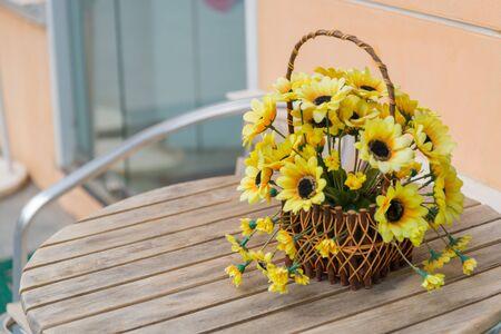 beautiful fake flower photo